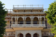 Stadsslott Jaipur, Indien Royaltyfri Foto