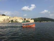 Stadsslott Udaipur Royaltyfri Foto