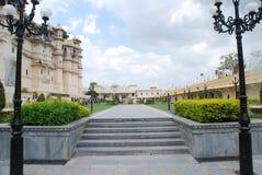 Stadsslott Udaipur Arkivbilder