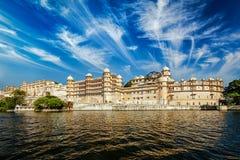 Stadsslott, Udaipus, Rajasthan Royaltyfri Bild