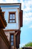 stadsspringbrunnkorridor hamburg Arkivbild