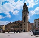 """Stadsstadhuis Altes Rathaus †""""Passau de stad in stock afbeeldingen"""