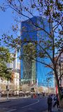 Stadsstreetscape, Sydney, Australien Fotografering för Bildbyråer
