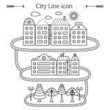 Stadssymbol Arkivbild
