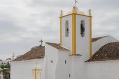 Stadssymbol - slott Tavira i Portugal Royaltyfri Foto