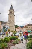 Stadstorn av Judenburg Royaltyfri Fotografi