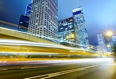 stadstrafik Fotografering för Bildbyråer