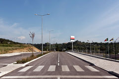 stadsväg Arkivbilder