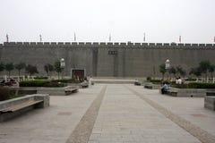 Stadsväggar Kina Arkivbild
