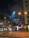 Stadsvaken upp tidigt Fotografering för Bildbyråer