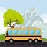 Stadsvervoer en voertuigen Royalty-vrije Stock Afbeeldingen