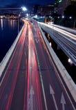 stadsväg Arkivfoton