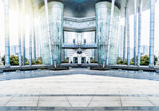 Stadsvierkant Royalty-vrije Stock Foto