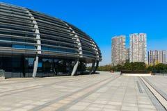Stadsvierkant en architectuur Stock Afbeelding