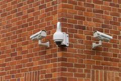 StadtÜberwachungsanlagekamera Lizenzfreies Stockbild