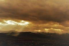 Stadt †‹â€ ‹in der Sonne Lizenzfreies Stockfoto