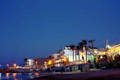 Stadt †‹â€ ‹Strand stockfoto