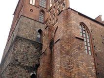 Stadt †‹â€ ‹von Berlin deutschland Panoramas von bildhauerischen Zusammensetzungen und von mittelalterlichen Kirchen im Stadtze stockfotografie