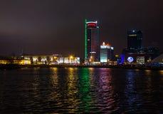 Stadt †‹â€ ‹von Minsk, Allee Pobediteley Stockbilder