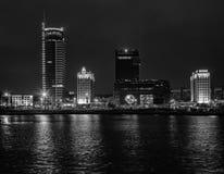 Stadt †‹â€ ‹von Minsk, Allee Pobediteley Stockfotos