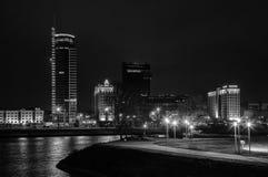 Stadt †‹â€ ‹von Minsk, Allee Pobediteley Lizenzfreie Stockfotos