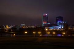 Stadt †‹â€ ‹von Minsk, Allee Pobediteley Stockbild