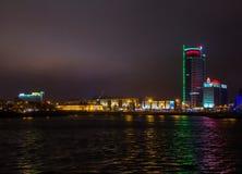 Stadt †‹â€ ‹von Minsk, Allee Pobediteley Lizenzfreie Stockfotografie