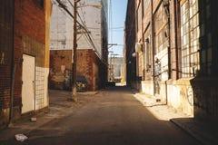 Stadt Allyway Stockfotografie