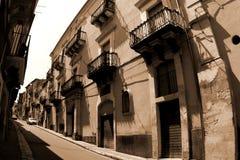 Stadt alten Italien-, Ragusa Lizenzfreie Stockbilder