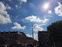 Stadt Amsterdam lizenzfreies stockfoto