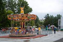 Stadt Angarsk Sommer 2011 - 67 Stockbild