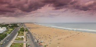 Stadt-Ansicht des Gebäudes in Chennai, Indien Lizenzfreies Stockfoto