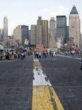 Stadt-Ansicht von der Plattform lizenzfreies stockfoto