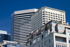 Stadt-Architektur Stockfotografie