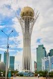 Stadt Astana, Kasachstan - Baiterek, Turm, Betrachtenplattform stockbilder