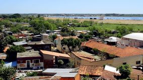 Stadt Asuncion Of Paraguay stock video footage