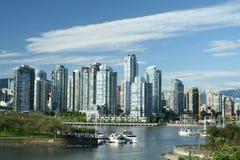 Stadt auf dem Meer Stockbilder
