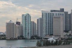 Stadt auf dem Wasser Stockfoto