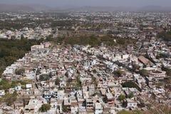 Stadt-Ausbreitung stockbild