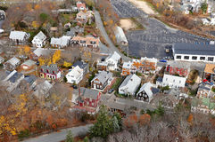 Stadt bei Provincetown, MA Stockfotografie