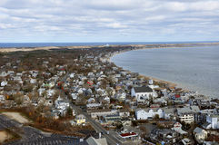 Stadt bei Provincetown, MA Stockfoto