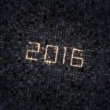 Stadt beleuchtet 2016 Stockfotos