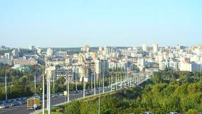 Stadt Belgorod landschaft stock video footage