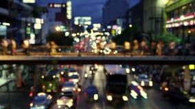 Stadt in Bewegung stock footage