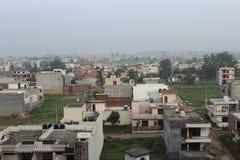 Stadt bis zum Horizont stockfoto