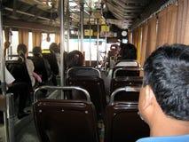 Stadt-Bus Bangkok Stockfotografie