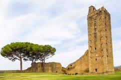 Stadt Castiglion Fiorentino, Toskana, Italien Stockfotografie