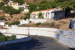 Stadt Cidade Velha in Santiago - Kap-Verde - Cabo Verde stockbilder