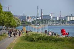 Stadt Dänemarks, Aarhus Lizenzfreies Stockfoto