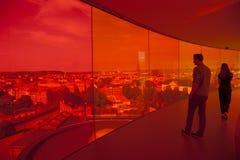 Stadt Dänemarks, Aarhus Stockfotos